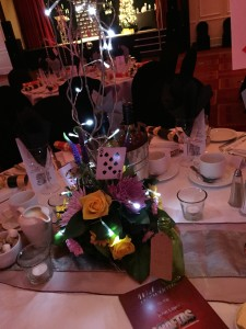 Corporate event decor - Alice in Wonderland Centrepiece